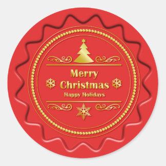 Merry Christmas Seal