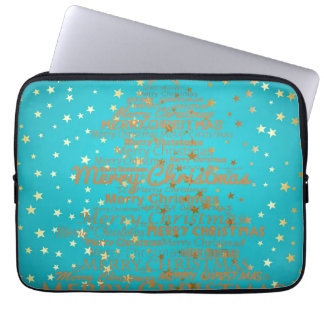 Merry Christmas Season Laptop Computer Sleeve