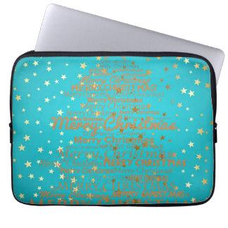Merry Christmas Season Laptop Sleeve