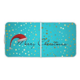 Merry Christmas Season Pong Table