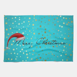 Merry Christmas Season Tea Towel