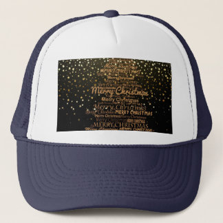 Merry Christmas Season Trucker Hat