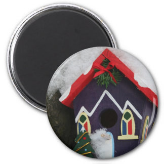 Merry Christmas, Seasons blessing 6 Cm Round Magnet