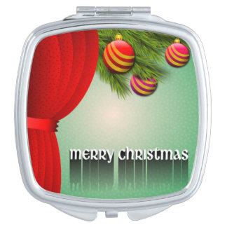 """""""MERRY CHRISTMAS"""" SIGN MIRRORS FOR MAKEUP"""