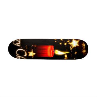 Merry Christmas Custom Skateboard