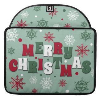 Merry Christmas Sleeve For MacBooks