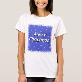 Merry Christmas Snow T-Shirt