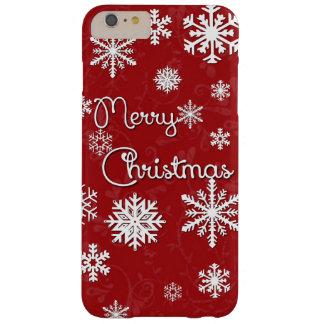 Merry Christmas Snowflake Phone Case
