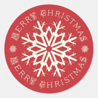 Merry Christmas Font Stickers | Zazzle.com.au