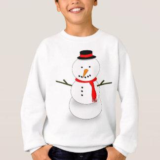 Merry Christmas Snowman Sweatshirt