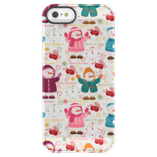 Merry Christmas Snowmen Permafrost® iPhone SE/5/5s Case