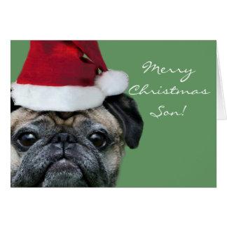 Merry Christmas Son greeeting card