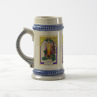 Merry Christmas, sparkly decoration Beer Steins