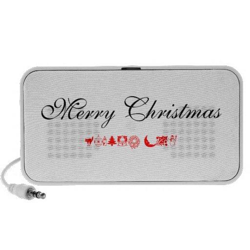 merry christmas travelling speaker