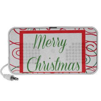 Merry Christmas iPod Speaker