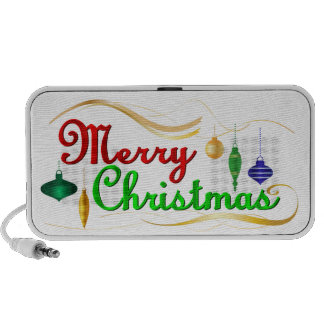 Merry Christmas Mp3 Speaker