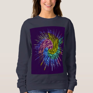 Merry Christmas Spiritual Sparkle Smiling Spirit Sweatshirt