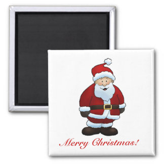 Merry Christmas! - Square Magnet 2 Inch Square Magnet