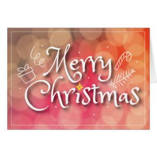 Merry Christmas Standard Card