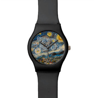 Merry Christmas Starry Night Watch