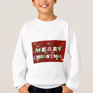 Merry Christmas Stars Sweatshirt