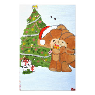Merry Christmas Stationery Design