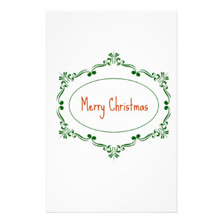 Merry Christmas! Stationery Paper