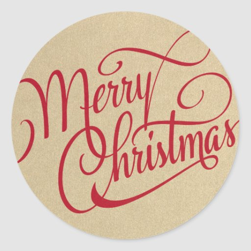 MERRY CHRISTMAS | STICKERS