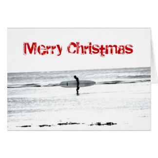 Merry Christmas Surf Card