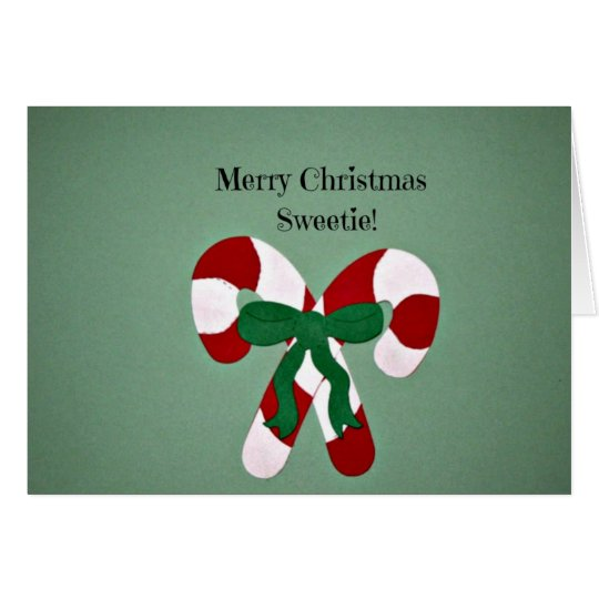 Merry Christmas Sweetie Card