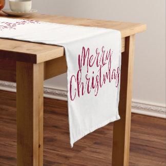 Merry Christmas Table Runner