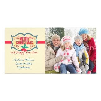 Merry Christmas Tag, Photo Card
