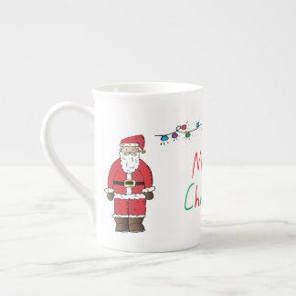 Merry Christmas Tea Cup