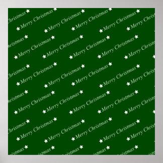 Merry Christmas, Text, green Print