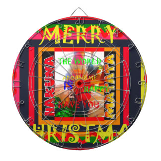 Merry Christmas The world around me is happy to ha Dart Boards