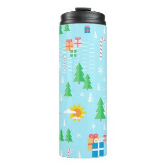Merry Christmas thermal tumbler