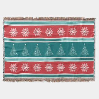 Merry Christmas Throw Blanket