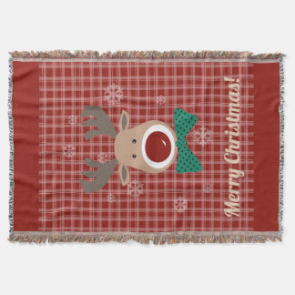Merry Christmas! Throw Blanket