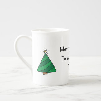 Merry Christmas to an awesome teacher Tea Cup