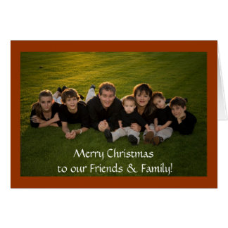 Merry Christmas to our Friends & Family Card