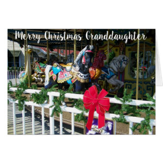 MERRY CHRISTMAS TO OUR ***GRANDDAUGHTER*** CARD
