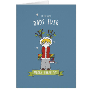 Merry Christmas to the Best Dads Card