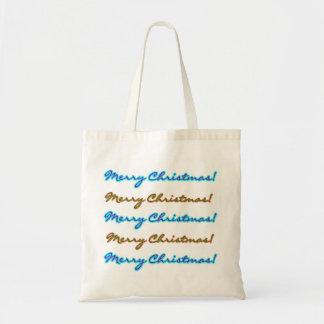Merry Christmas Tote Budget Tote Bag