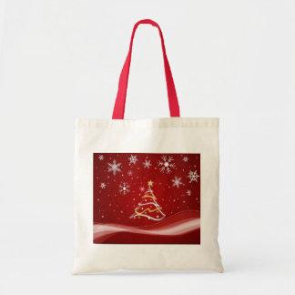 merry-christmas tote bag