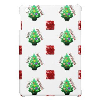 Merry Christmas Tree and Gift iPad Mini Covers
