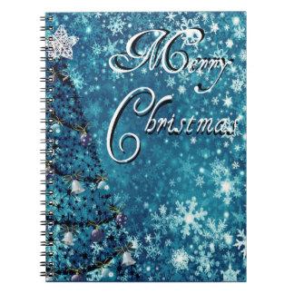Merry Christmas Tree Notebook