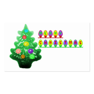 Merry Christmas Tree Pack Of Standard Business Cards