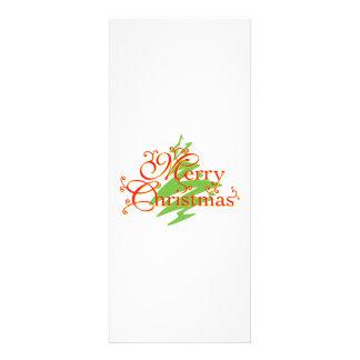 Merry Christmas Tree Star Invitation Postage Label