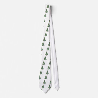 Merry Christmas Tree Tie