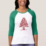 Merry Christmas Tree Women's Long Sleeve T Shirt